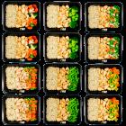 Brown rice - chicken - vegetable pack (6x2)