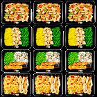 Chicken variation pack I (4x3)