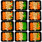 Sweet potato - chicken - vegetables pack (6x2)
