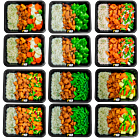 Brown rice - chicken cayun - Vegetable pack (6x2)