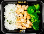 Basmatirijst - Gebakken kipfiletblokjes - Broccoli (met kruiden) [BULK]