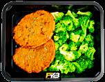 Kipburger - Broccoli (met kruiden)