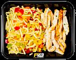 Macaroni - Gegrilde kipfiletreepjes - Paprikamix (met kruiden) - BULK