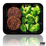 Runderburger - Broccoli (met kruiden)