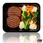 Vegetarische Burger - Broccolimix (met kruiden)