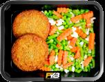 Vegetarische Burger - Summermix (met kruiden)