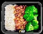 Zilvervliesrijst - Kip Piri Piri - Broccoli - BULK