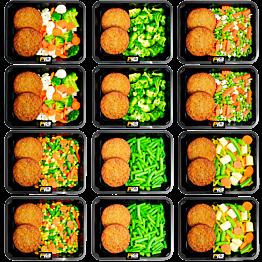 Low carb Vegetarische burger (6x2)