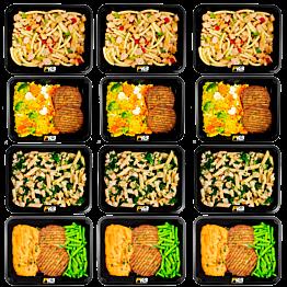 Vegetarian variation pack I (4x3)