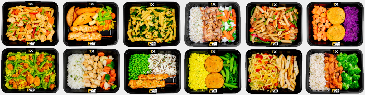 Eiwitrijke fitness maaltijden bestellen